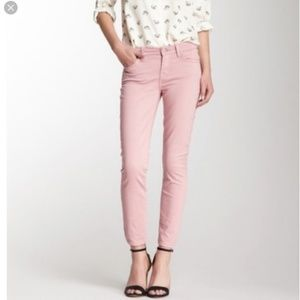 7 for all mankind the Cropped Skinny coral  24